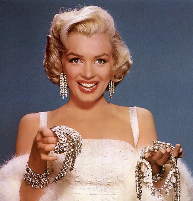 Marilyn Monroe Diamond Jewelry