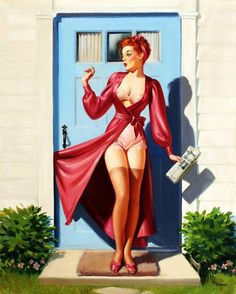 Morning Pin Up Girl
