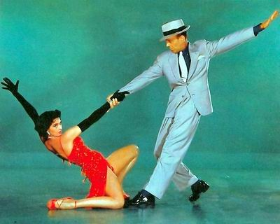 Cyd Charisse and Fred Astaire in Bandwagon