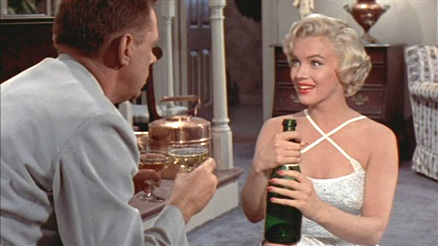 marilyn-monroe- seven year itch champagne