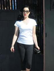 Dita Von Teese Workout Wear