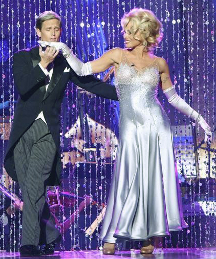 Pamela Anderson Dancing with the Stars marilyn Monroe