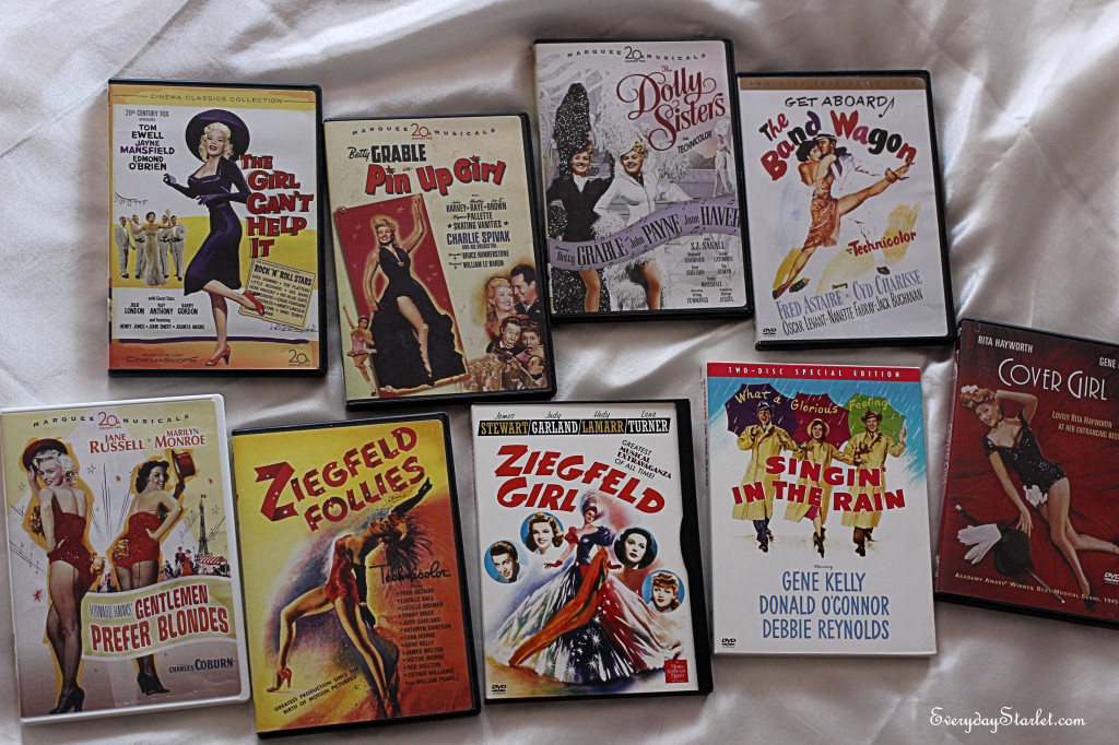 Dita Von Teese Favorite Films with Jayne Mansfield, Betty Grable, Marilyn Monroe, Old Hollywood Glamour
