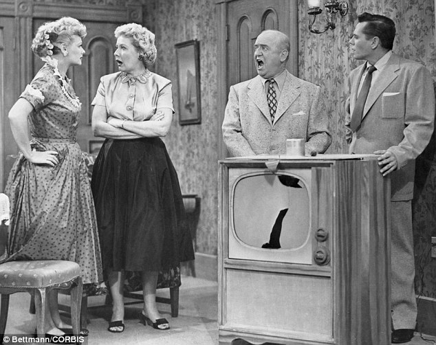I Love Lucy Television Boob Tube