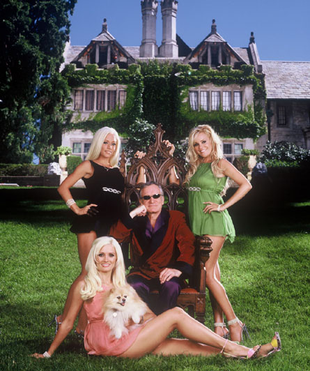E! Girls Next Door Hugh Hefner Kendra Wilkinson,