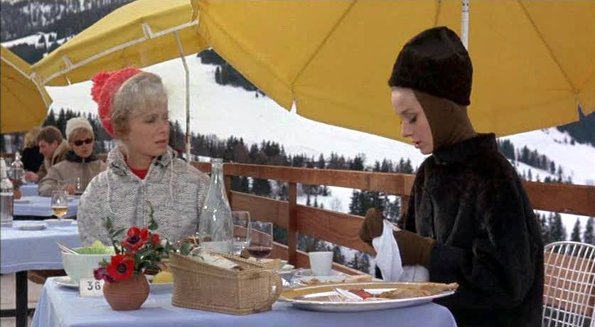 Audrey Hepburn Charade Ski Winter Fashion
