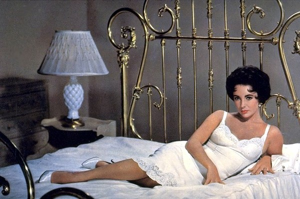 Elizabeth Taylor Cat on Hot Tin Roof Slip Brass Bed