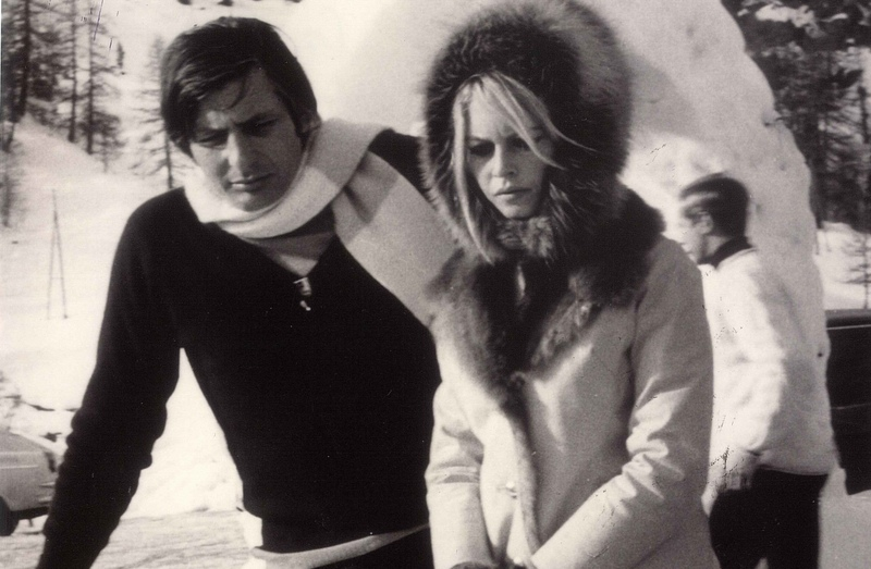Brigitte Bardot winter snow fashion style