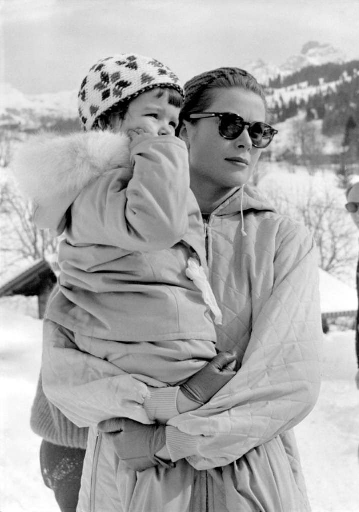 Grace Kelly winter snow fashion style