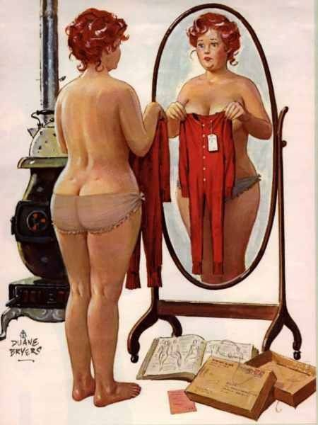 Hilda Pin Up Mirror