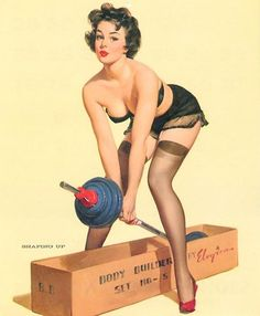 Pin Up Girl Workout