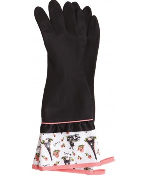 Jessie Steele Parisian Toile Rubber Gloves