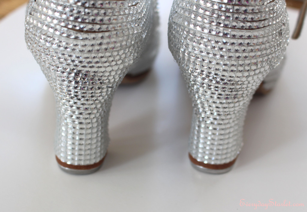 DIY Rhinestone Tap Shoes Sparkly Heels