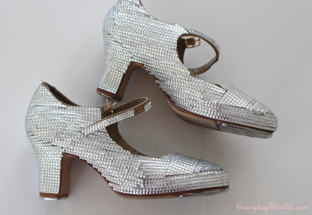DIY Rhinestone Tap Shoes