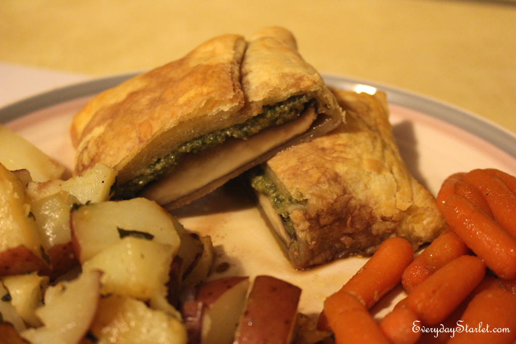 Vegetarian Beef Wellington
