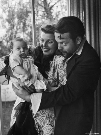 Rita Hayworth Orson Welles Baby