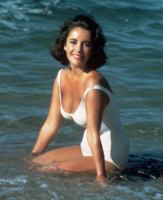 Elizabeth Taylor Summer Fashion in Suddenly Last Summer