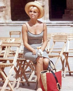 Brigitte Bardot Summer Straw Bag