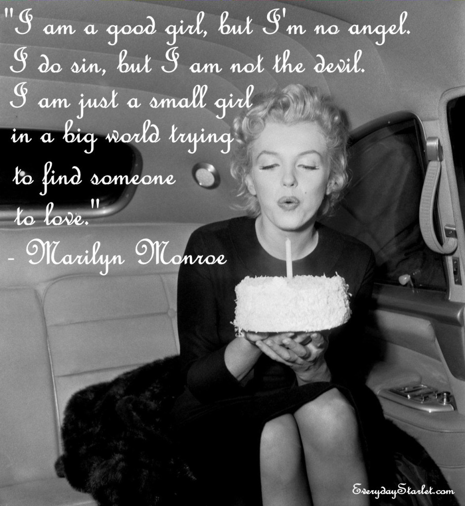 Marilyn Monroe Birthday