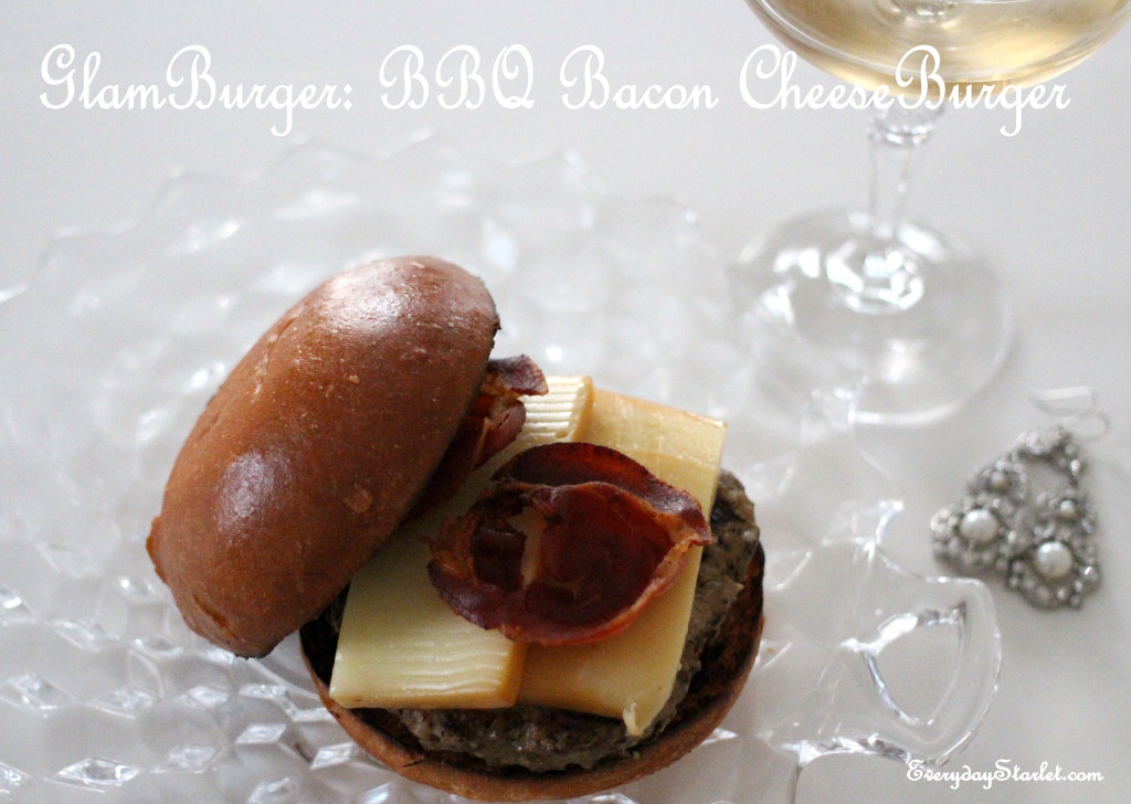 GlamBurger BBQ Bacon Cheese Burger