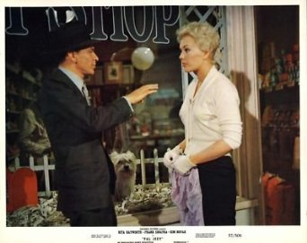 Kim Novak fashion in Pal Joey