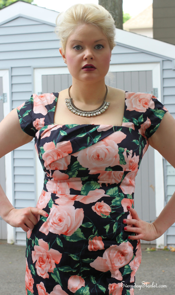 Modcloth dress edgy Miley Cyrus inspired