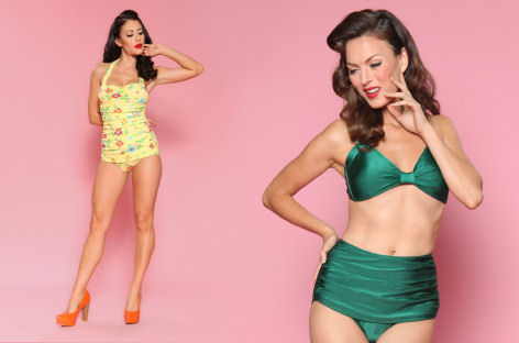 Modcloth Esther Williams Swimwear
