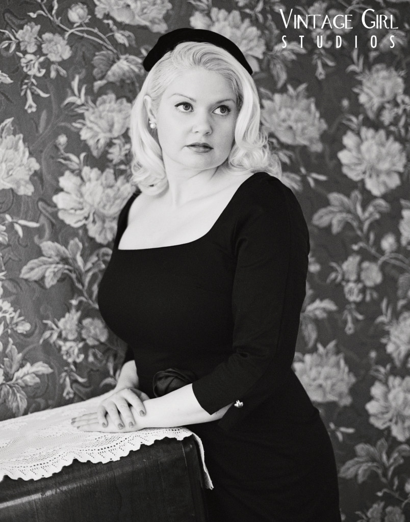 Vintage Old Hollywood Glamour photoshoot