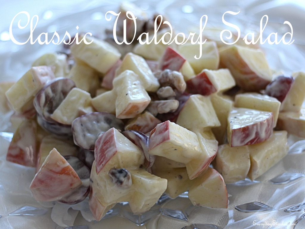 Traditional Waldorf Salad Recipe