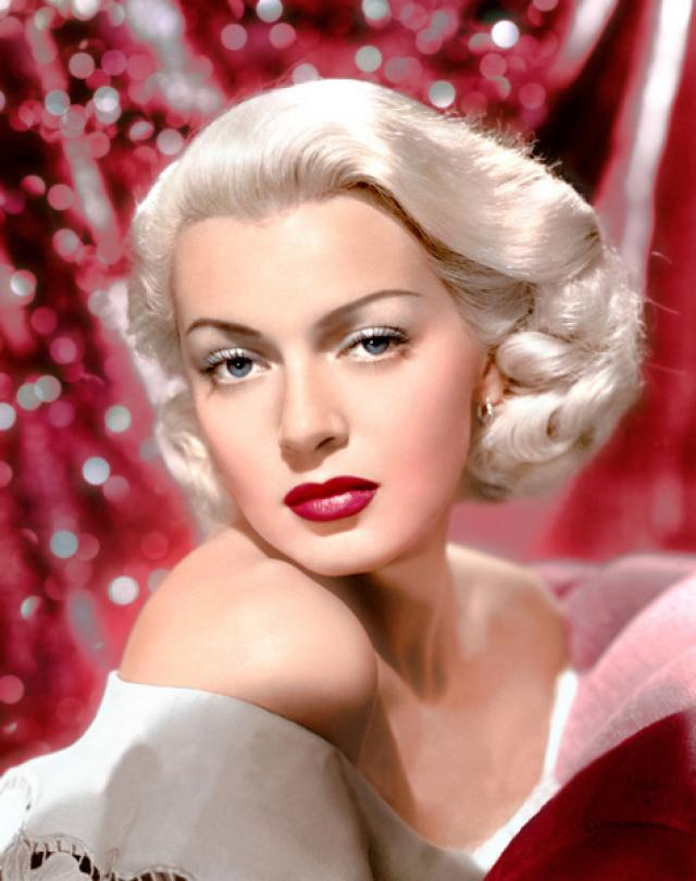Lana Turner wine berry lipstick