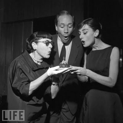 Edith Head, Mel Ferrer, and Audrey Hepburn, Birthday, Quotes