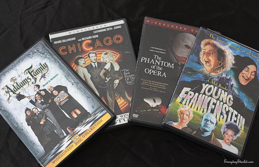 Halloween Films for People Who Don't Like Horror Movies Addams Family, Chicago, Phantom of the Opera, Young Frankenstein
