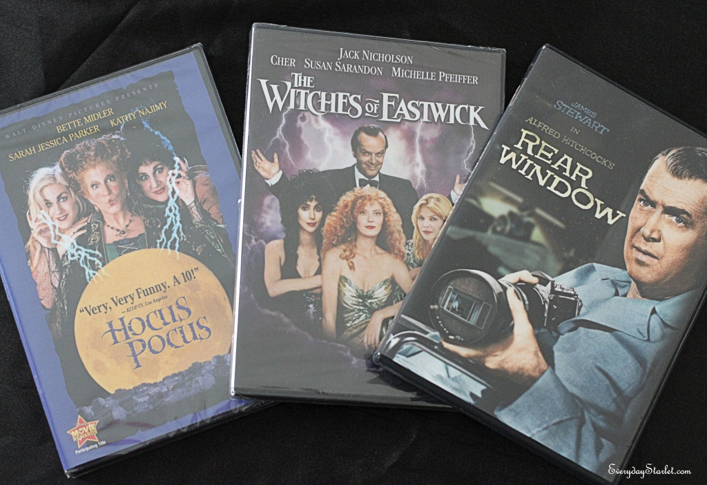 Halloween Films for People Who Don't Like Horror Movies Hocus Pocus, Witches of Eastwick, Rear Window