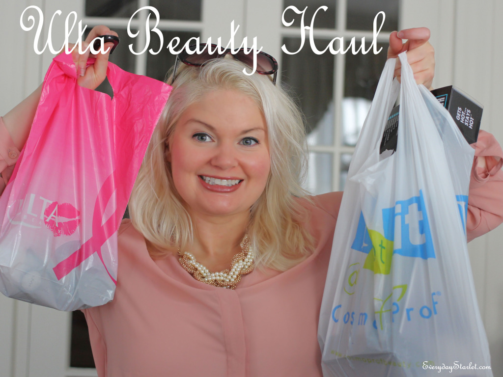 Ulta Beauty Haul + Bonus Hair Haul YouTube vlogger