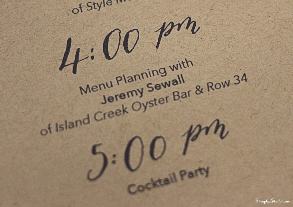 Holiday Meal Planning Jeremy Sewall of Island Creek Oyster Bar & Row 34