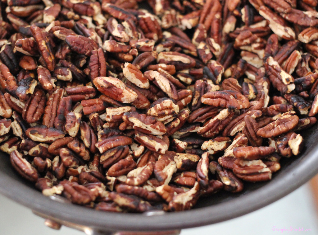 Toasted Pecans for Pecan Krispie Treats