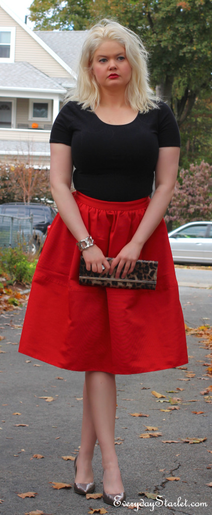 Express skirt, Forever 21 tops, Michael Kors Pumps,