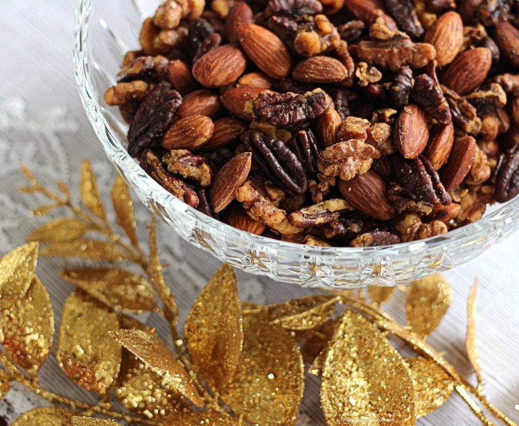Spiced Nuts for Holiday Parties