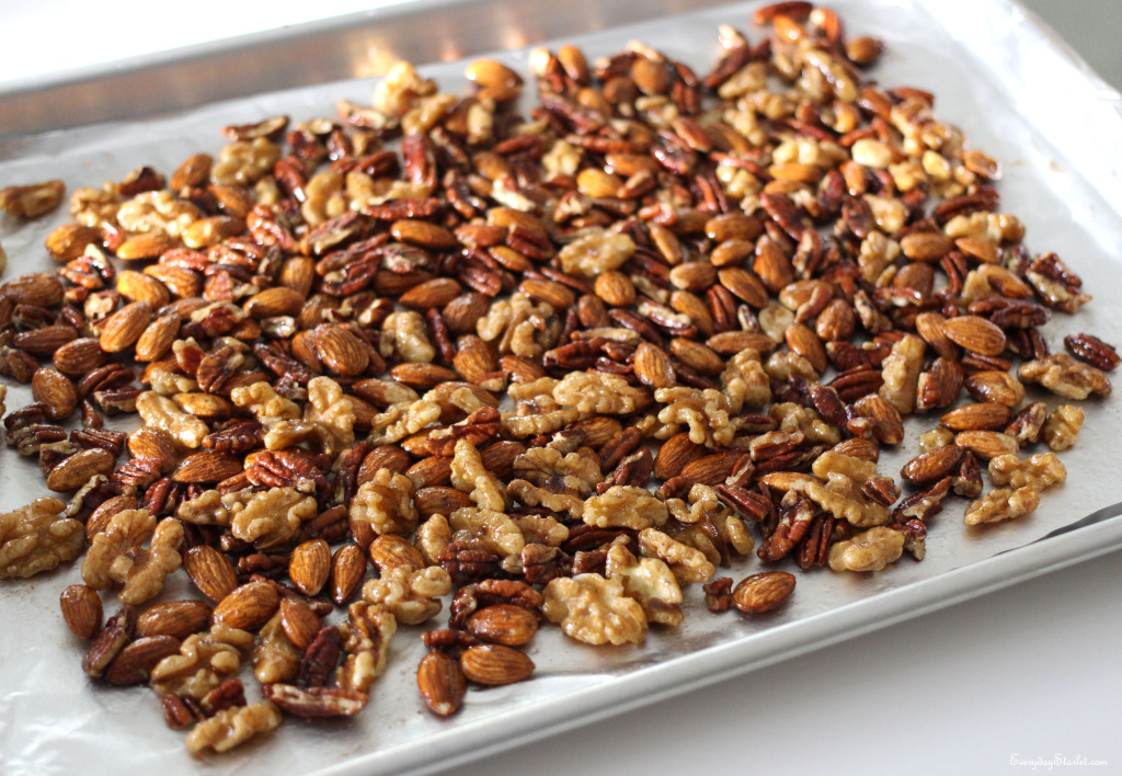 Roasted Spiced Nuts for the Holidays