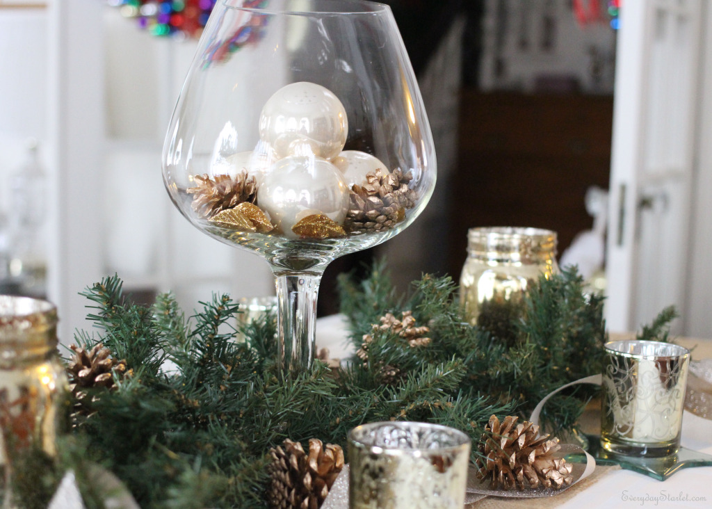 Christmas Tablescape 2014
