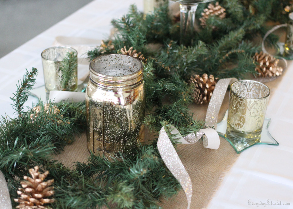 Christmas Tablescape 2014 2