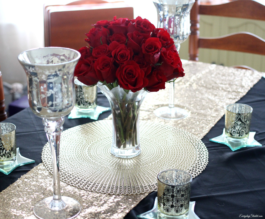 Oscars Academy Awards Party Tablescape