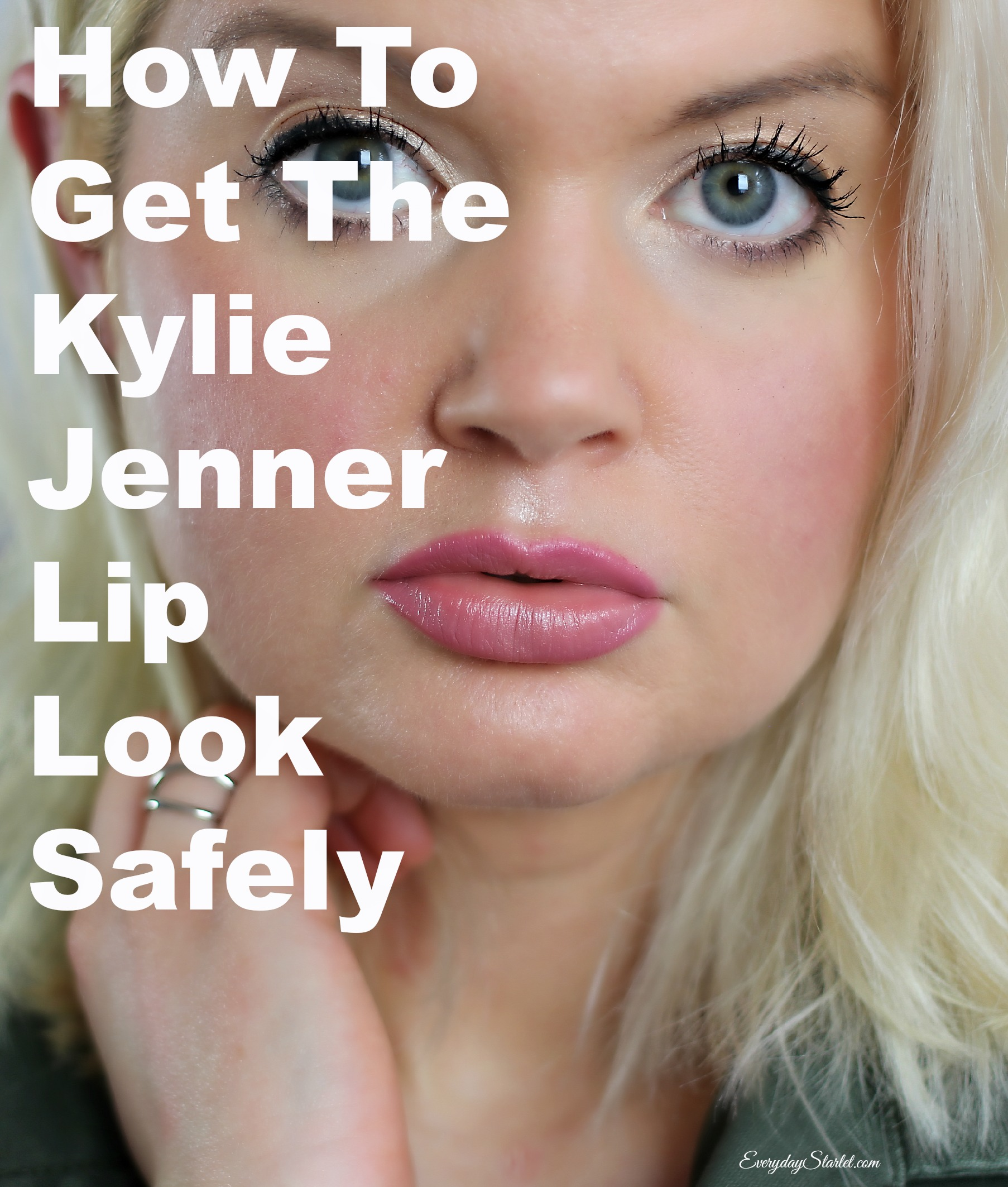 How To Get Kylie Jenner Fuller Sexy Lips Safely