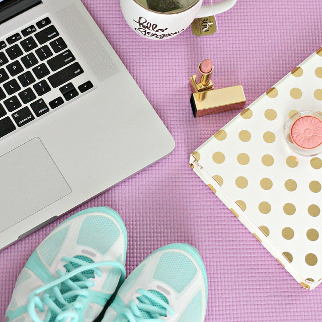 Fitness for Fashion Bloggers (and beauty, food, or lifestyle bloggers) is #ontheblog