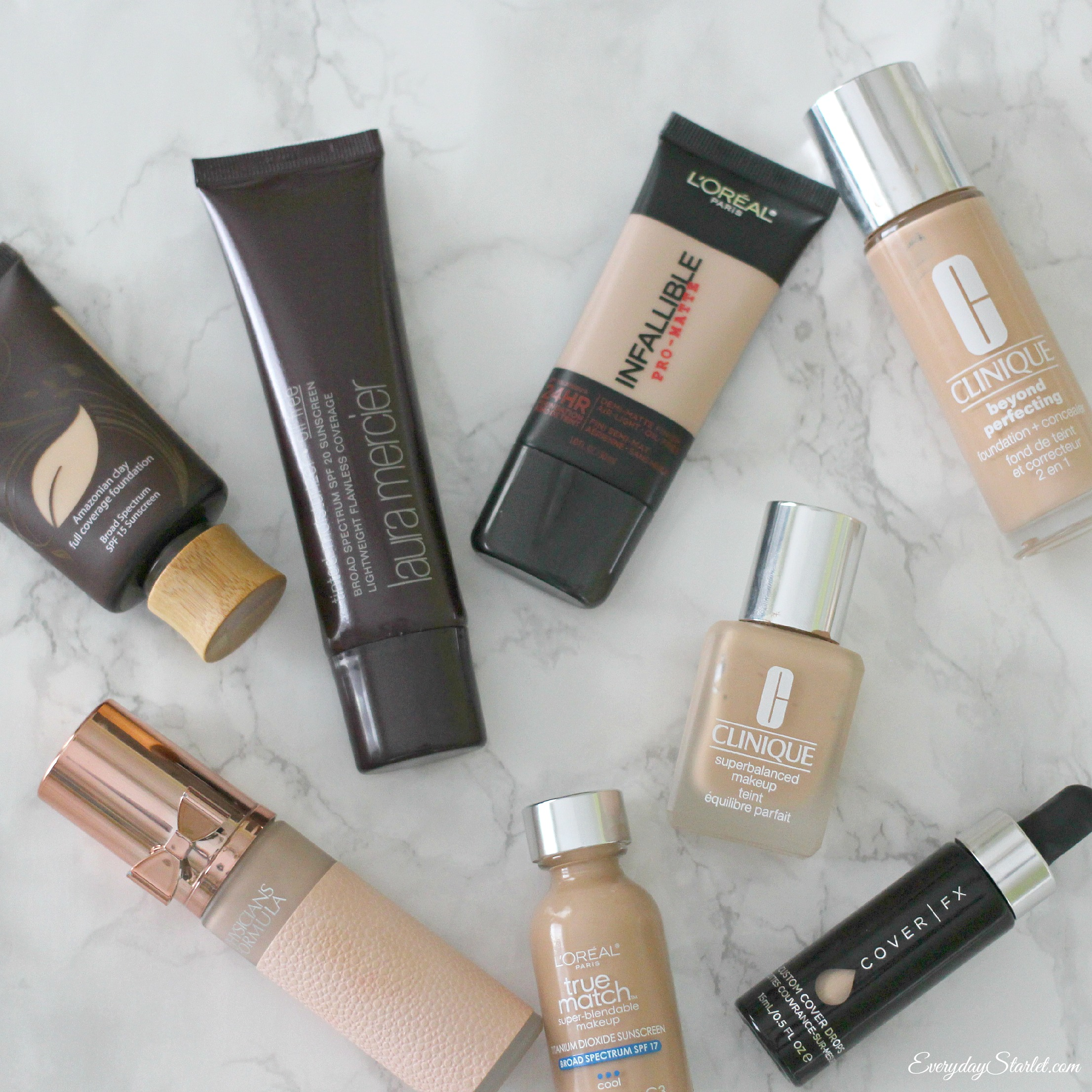 Basic Foundation Primer Wardrobe A Different Kind Of Makeup Collection Video Everyday Starlet