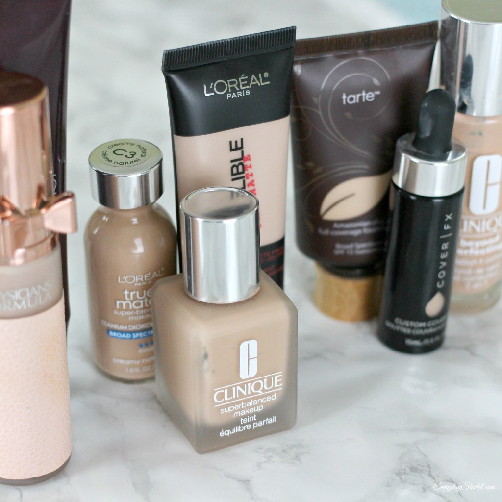 Foundation Wardrobe makeup