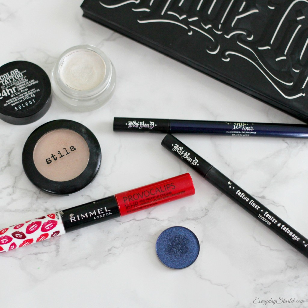 Patriotic Makeup tools