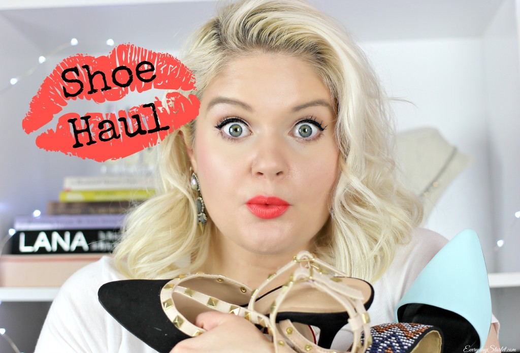 Shoe Haul YouTube