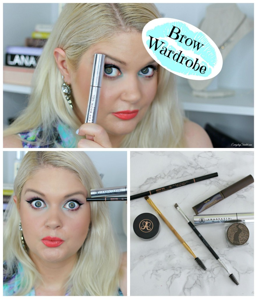 Brow Wardrobe: All the Brow Products You'll Ever Need