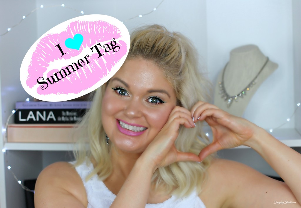 I Heart Summer Tag YouTube